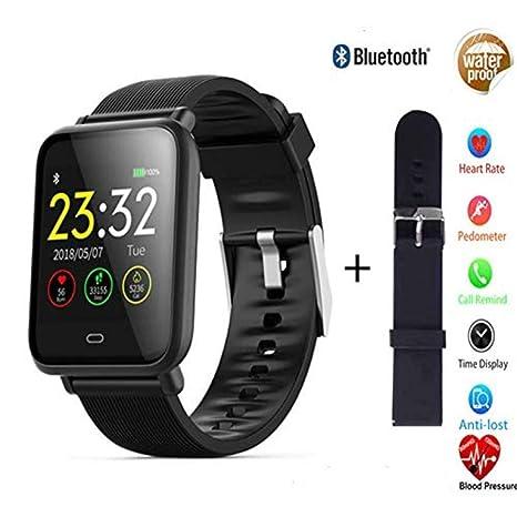 Amazon.com: ZKKZ Reloj inteligente Bluetooth impermeable ...