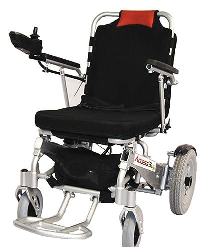 accessbuytm plegable silla de ruedas silla de ruedas eléctrica Smart rápido plegar y abierto luz peso