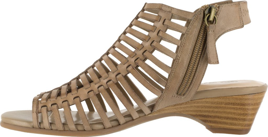 Bella Vita Women's Pacey Wedge Sandal B01N5IFU7D 9.5 B(M) US|Saddle Burnish