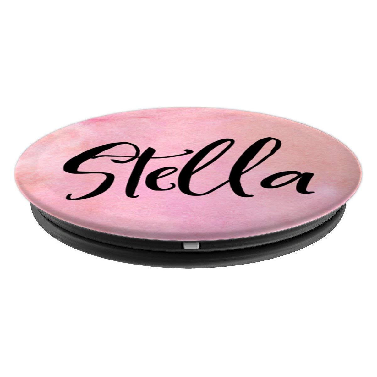 Amazon.com: Stella - Toma de pop personalizable para ...