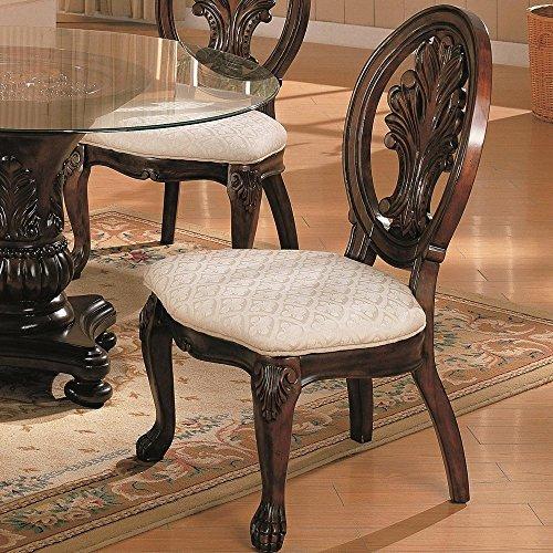 Coaster CO-101032 Side Chair Dark Cherry