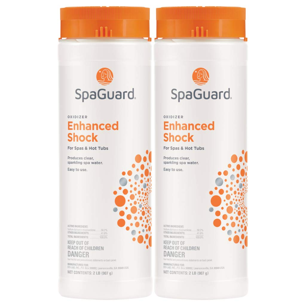 SpaGuard Enhanced Shock (2 lb) (2) by SpaGuard