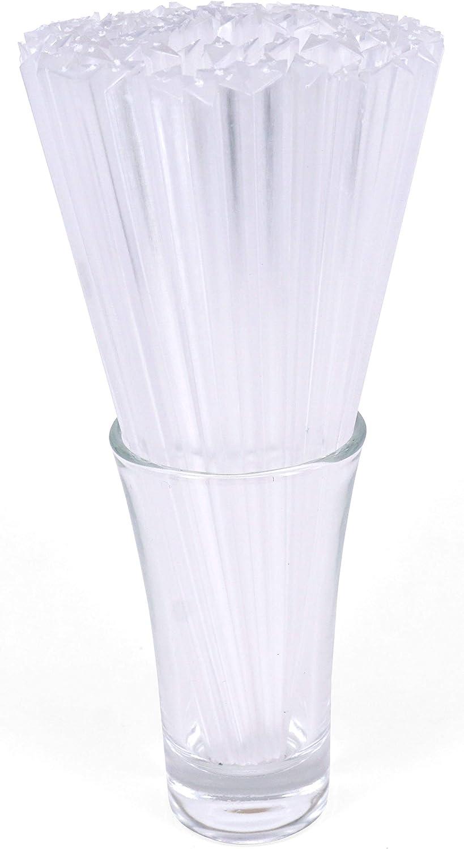 "Gmark 6"" Prism Picks 300 ct, Triangular Plastic Cocktail Prism Picks (Clear) (Box of 300pcs) GM1003F"