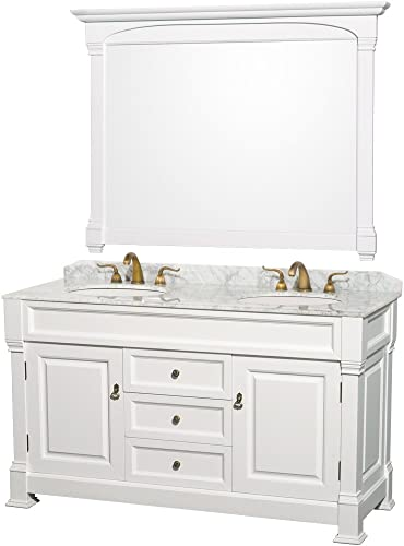 Wyndham Collection Andover 60 inch Double Bathroom Vanity