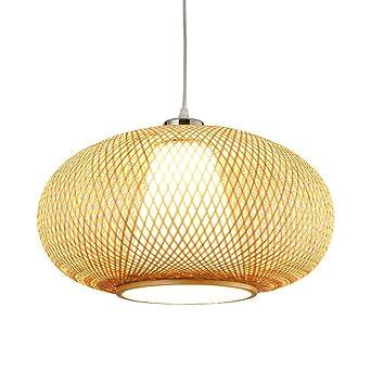 En Rotin 15 Pouces Rishx 75 Bambou Osier Pendentif Lanterne hsQrdtC
