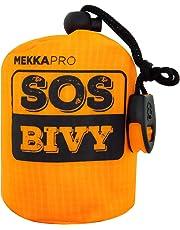 MEKKAPRO SOS Emergency Thermal Bivy Sleeping Bag with Survival Whistle, Survival Bivvy Sack, Mylar Emergency Blanket