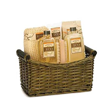 Amazon.com : 15264 Wholesale Relaxing Spa Basket Bath and Body Clean ...