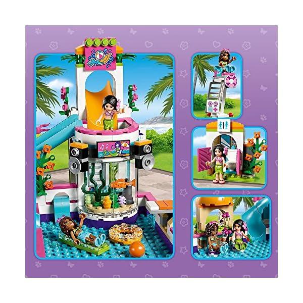LEGO Friends La Piscina all'Aperto di Heartlake, Multicolore, 41313 2 spesavip