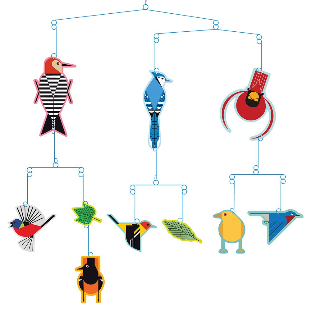Amazon Charley Harper Birds Mobile Baby