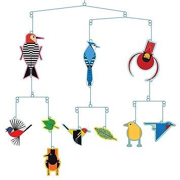 Amazon.com : Charley Harper Birds Mobile : Baby