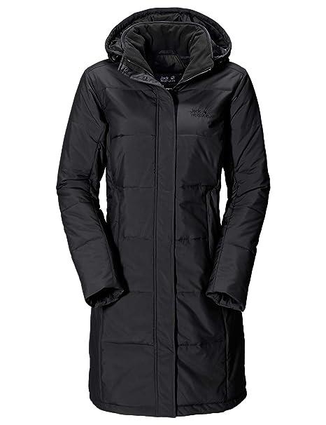 innovative design ce75a af7b5 Jack Wolfskin Iceguard Coat, leichter, winddichter, wasserabweisender &  atmungsaktiver Wintermantel für Damen, wärmender Mantel für Damen,  knielanger ...
