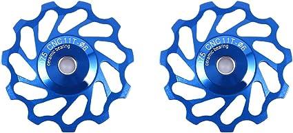 Aluminium Bike Jockey Wheels Rear Derailleur Pulley For SHIMANO 9//10 Speed 11T