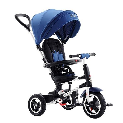 JYY Respaldo reclinable Kids Trike - Triciclo Plegable para ...
