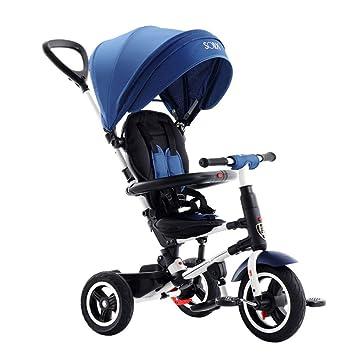 TRICYLE Triciclos Bebes Plegable Evolutivo Infantil 4 en1 ...