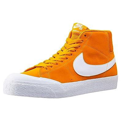 Nike SB Blazer Zoom Mid XT Sneakers Circuit Orange/ White Mens 11