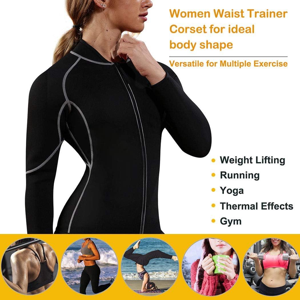 Mens Sauna Suit Sweat Neoprene Body Shaper Fat Burner Long Sleeve Weight Loss UK