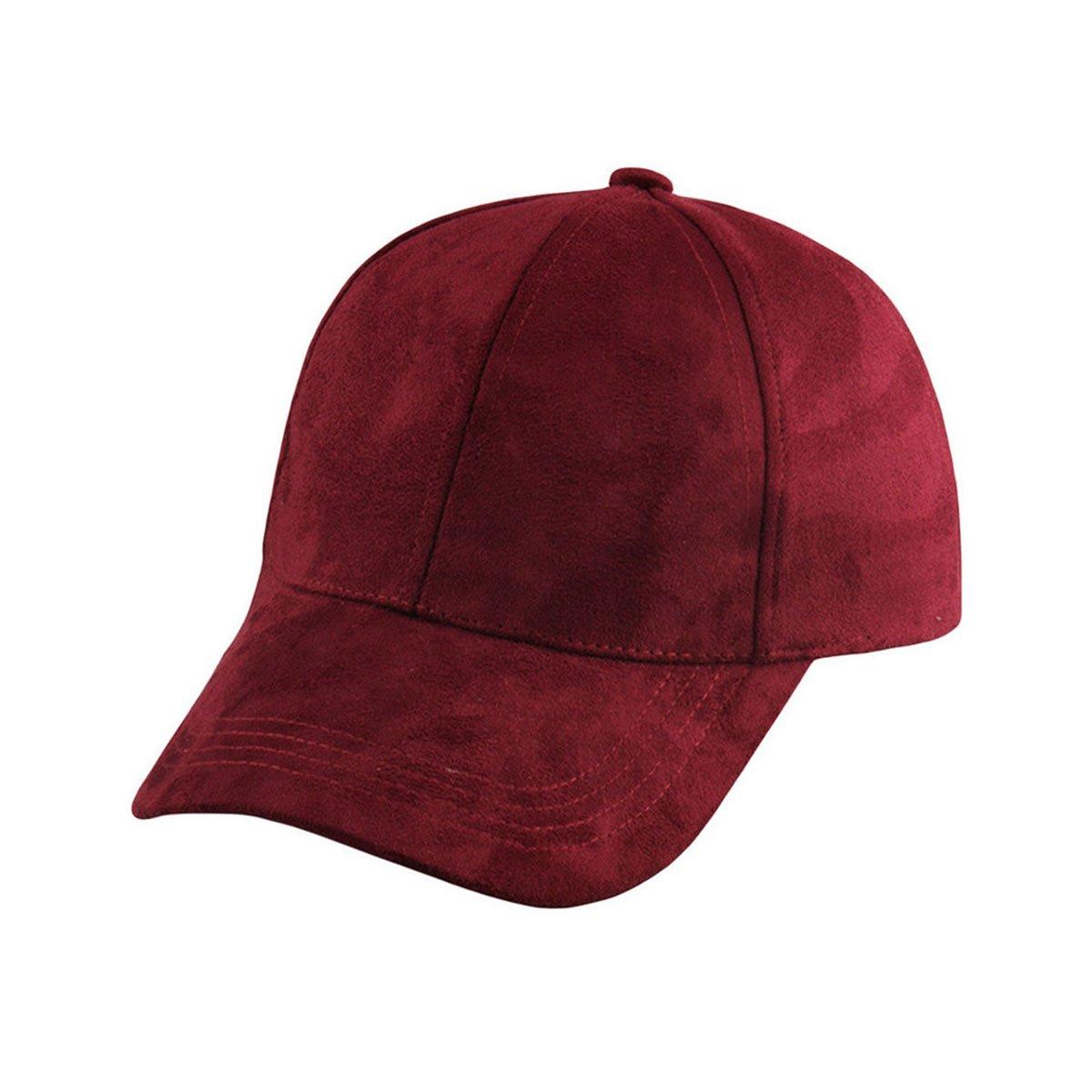 5a4a3db2ff01c1 Generic Fashion Men Women Suede Baseball Cap Snapback Visor Sport Sun Adjustable  Hat (Army Green) at Amazon Men's Clothing store: