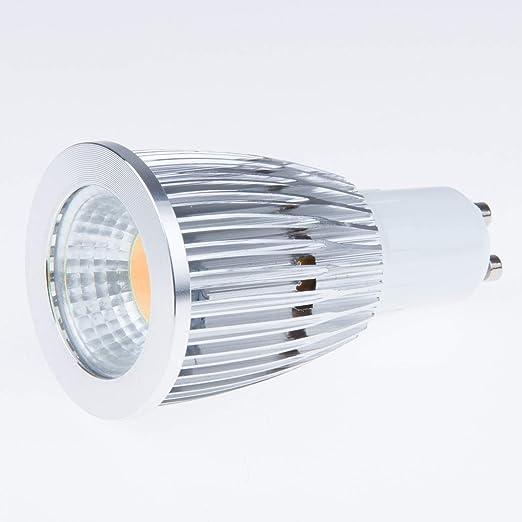 TiooDre GU10 Bombilla LED, 12 W, equivalente a bombilla halógena COB, luz blanca