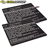 2x Exell Li-Polymer 3.7V 6800mAh Battery Fits ZTE V11 V11A V7E Replaces LI3768T42P5HC8B645