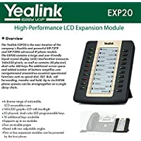 Yealink EXP20 LCD Expansion Module for SIP-T27P and SIP-T29G