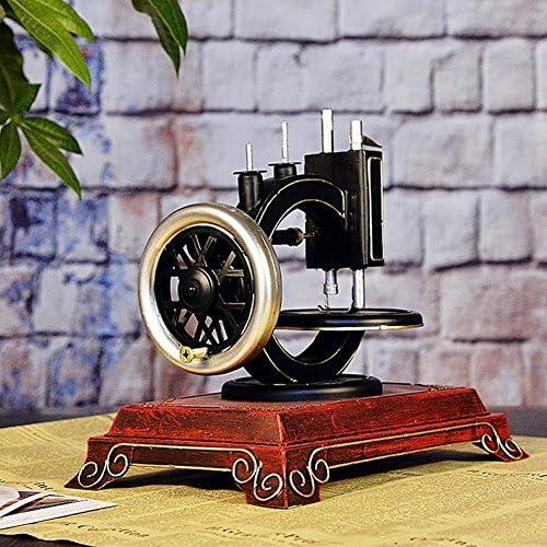 PENG Vintage Nähmaschine Salon, Metall-Handwerk zu Hause Dekorationen moderne Weingeschenkideen