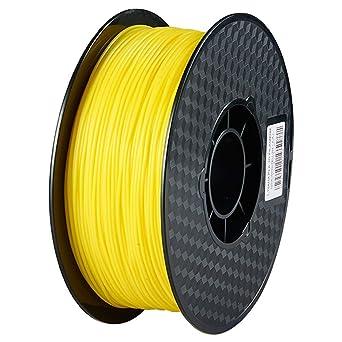 1.75mm Negro filamento PLA impresora 3D - 1kg carrete (2.2 ...
