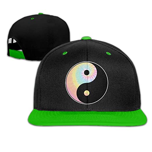 5d68b45c777 Mens Womens Hip-hop Hats Tie Dye Yin Yang Adjustable Dad Hat at ...