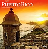 Puerto Rico 2019 12 x 12 Inch Monthly Square Wall Calendar, Scenic Travel Caribbean Islands