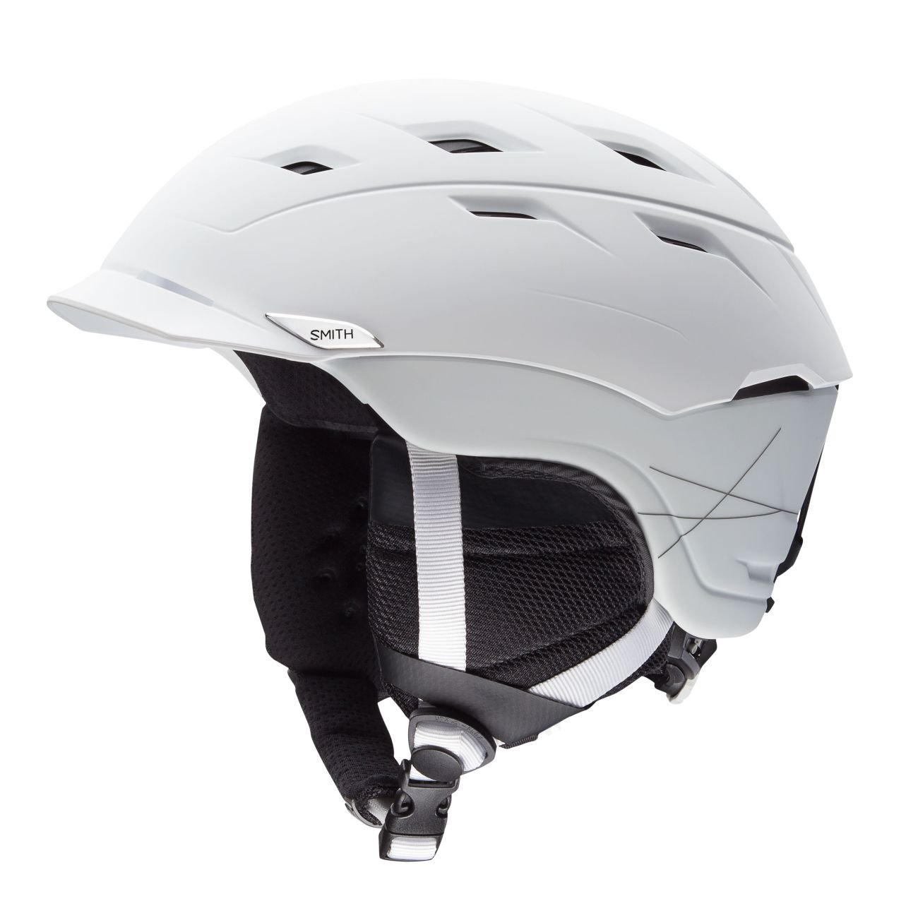 Smith Optics Variance Adult Mips Ski Snowmobile Helmet - Matte White / Large