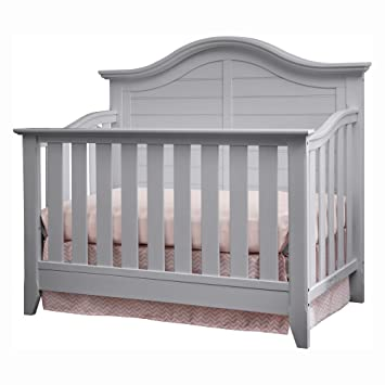 Thomasville Kids Southern Dunes Lifestyle 4-in-1 Convertible Crib, Pebble  Gray, Easily Converts to Toddler