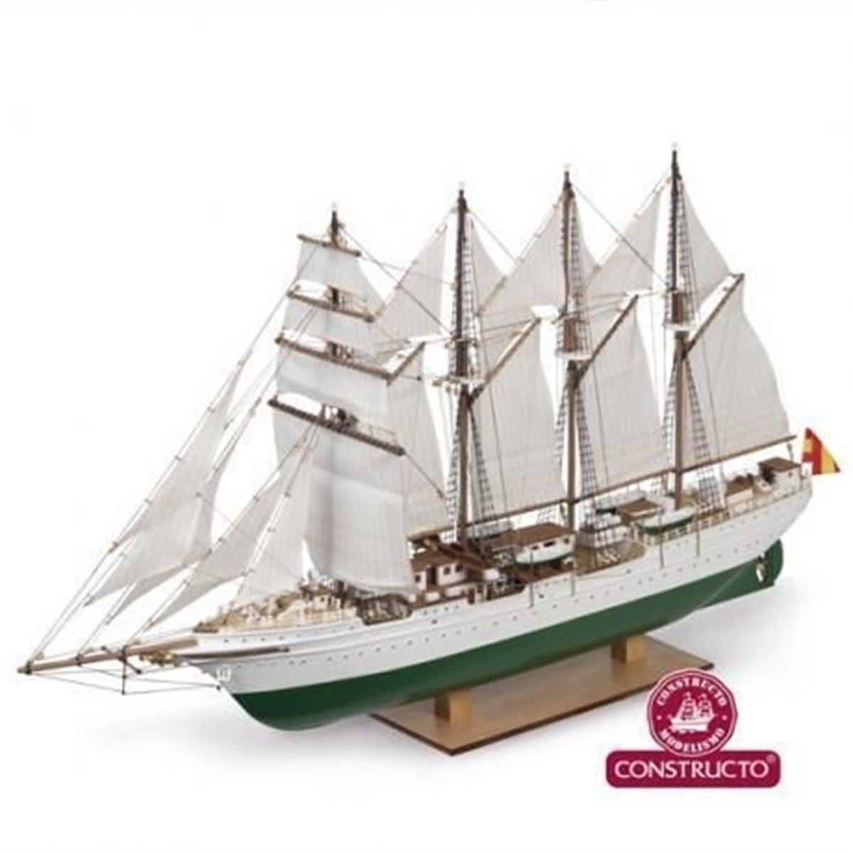 Constructo – 80622 – J. S. Elcano – Echelle 1/205