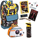 Star Wars The Force Awakens Backpack and Back to School Supplies 16pc Bundle