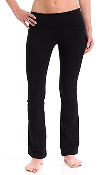 latest fashion distinctive style attractive price T-Party Fold Over Waist Yoga Pants