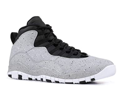 buy online ccaba 43067 Nike Air Jordan 10 Cement Mens Basketball-Shoes 310805-062 8 - Smoke Grey
