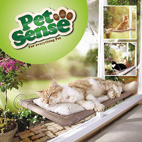 Petsense Cat fenêtre monté sur lit Sunshine Assise animaux Hamac véranda Perchoir Coussin