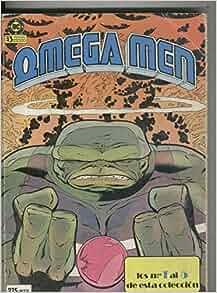 Omega Men, coleccion en tres retapado: R.Slifer-K.Giffen-DeCarlo
