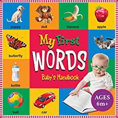 My First Words Book: Baby's First Handbook: New Concept!
