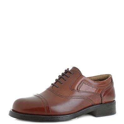 Shoestore Mens Stonebridge Leather Smart Work Practical Lace Up