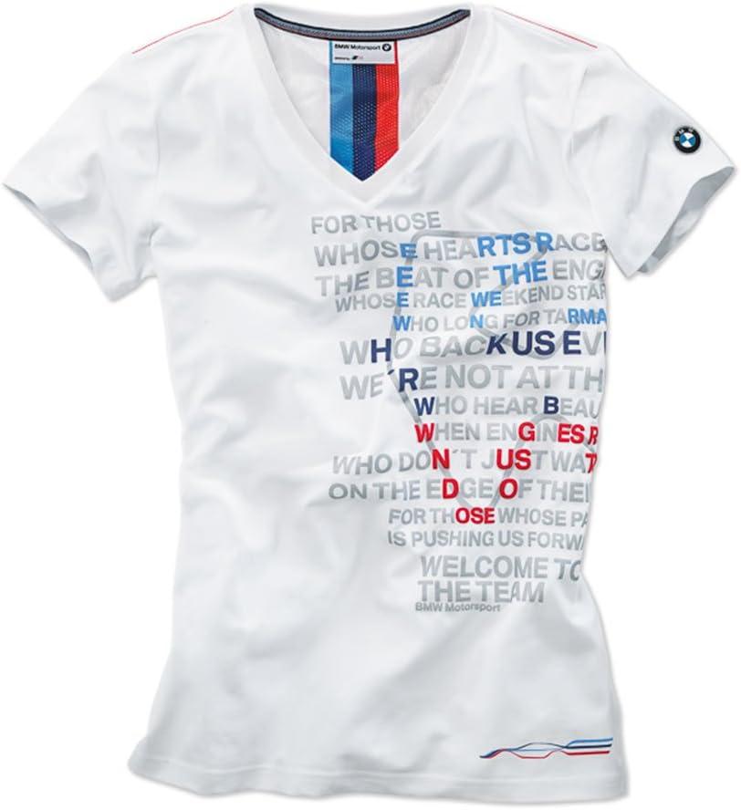 BMW - Camiseta gráfica para Mujer, M: Amazon.es: Coche y moto