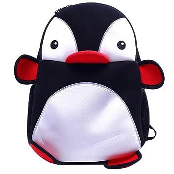 Amazon.com  ME.FAN™ Little Kid Backpack - Cute Penguin Bag for Boys ... fde0a7c779ea0