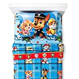 Nickelodeon Paw Patrol Twin Sheet Set Microfiber Flannel featuring Marshall, Chase and More