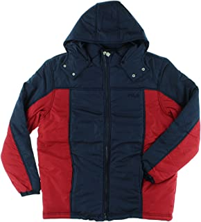 Fila Mens Polyfill Outerwear Jacket Red