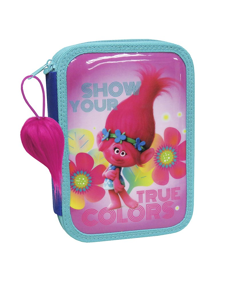TROLLS Doble Plumier True Colors Doble TROLLS (EP-101-T) 380c05