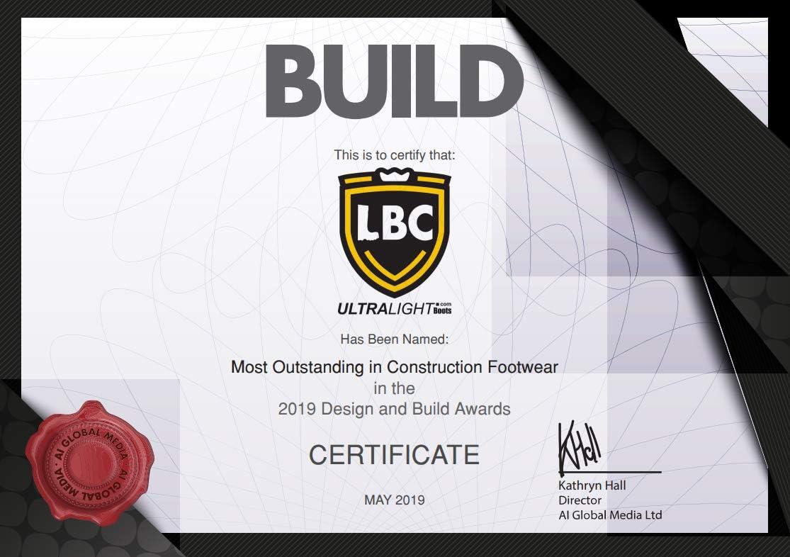LBC Leon Boots Co S7 Ultralight Safety S5 Stivali Neri