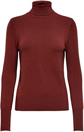 Only Onlvenice L/S Rollneck Pullover Knt Noos Camiseta Cuello Alto para Mujer