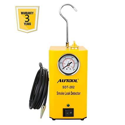 AUTOOL SDT-202 Car EVAP System Leak Testing Machine Leak Detector, 12V Automotive Fuel
