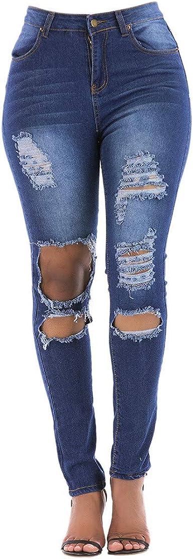 Vaqueros Vaqueros Para Mujer Cintura Alta Tallas Grandes Leggins Mujer Pantalones Jeans Mujer Elastico Flacos Skinny Slim Fit Delgados Pantalones Largos De Mezclilla Jeans Push Up Ropa Mk Primaria Ro