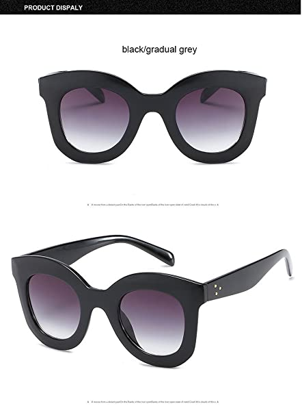 b6b67c736a Aprigy Gradient Points - Gafas de Sol para Mujer, diseño de Tom, Black Grey