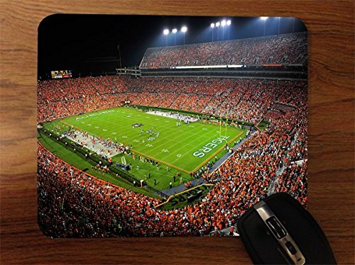 (College Football Stadiums Desktop Office Silicone Mouse Pad by Compass Litho)