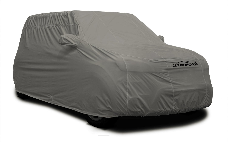 Gray CVC3AB98PR7076 Coverking Custom Fit Car Cover for Select Porsche Panamera Models Autobody Armor